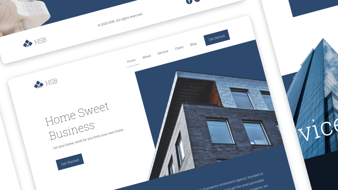 How Sweet Business - UI Landing Page