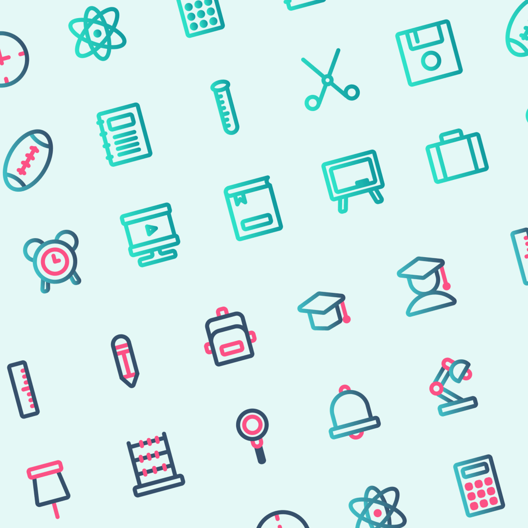 Modern Education Icon Set